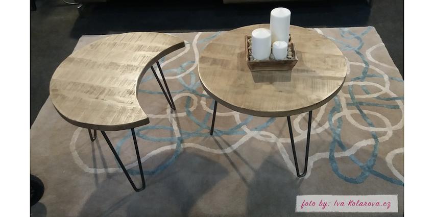 Nápaditý stolek pro dva