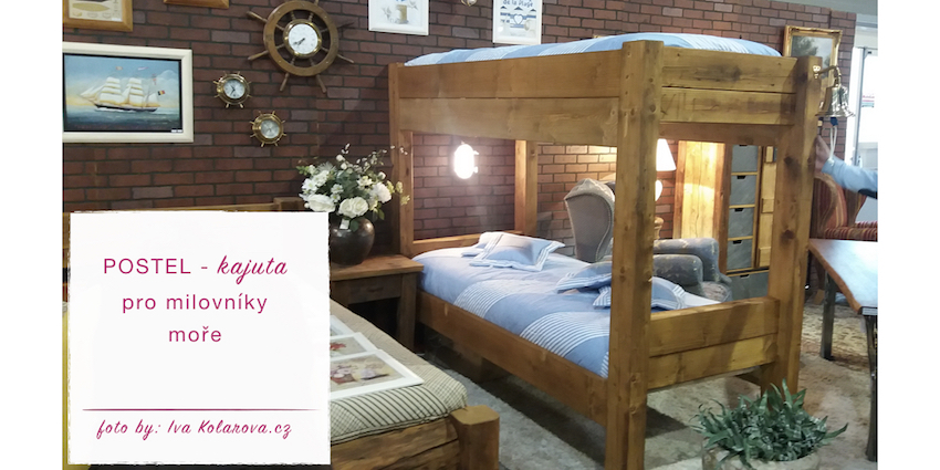 Na první pohled tato postel vypadá, jen jako další patrová postel, ale když se pozorněji podíváte... vidíte to?! Je to, jako byste byli v kajutě.