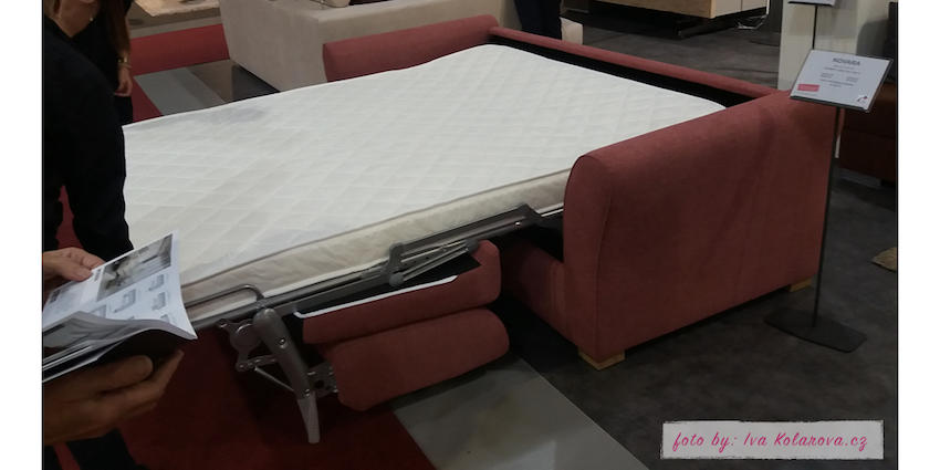 3. luxusní řešení pro komfortní spánek - řešení, když nemáte místo na klasickou postel, nebo jako příležitostné spaní pro vaše návštěvy